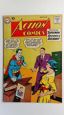 Action Comics #264  Vg+ 4.5 (Dc 1938 Series) Bizarro Cover And Story