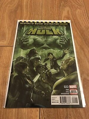 Totally Awesome Hulk #22, 1st full appearance of Weapon H, 1st print, VF/NM