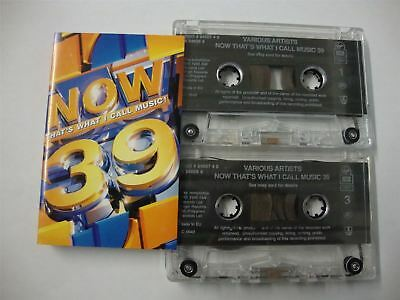 Now That's What I Call Music 39 - 41 Top Chart Hits - Cassette Tape