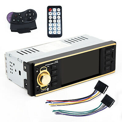 Single 1 Din In Dash Car Player Radio Stereo DVD-R/RW With Back Up Rear Camera