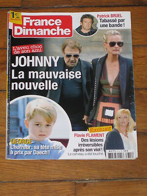 France Dimanche n° 3714 - Prince George, Johnny Hallyday, Flavie Flament, Diam's