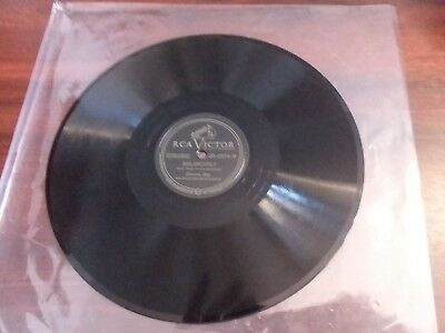 """1940s NOS Nr. MINT 1st PRESS DENNIS DAY """"Melancholy/ Sincerly Yours rca 78 10"""""""