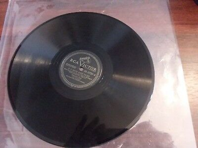 """1940s Nr. Mint 1st Incisione Dennis Day """" Few More Kisses / If It Were Rca 78"""