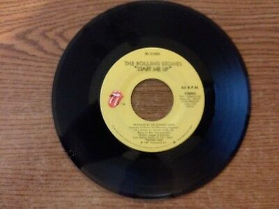1981 Mint-Rare Rolling Stones Start Me Up Rs 21003 45