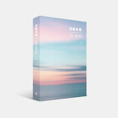 BTS 花樣年華 THE NOTES 1 Korean Ver Book+Special Note Book with Tracking Number