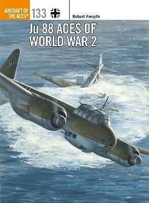 Ju 88 Aces of World War 2 by Robert Forsyth Paperback Book Free Shipping!