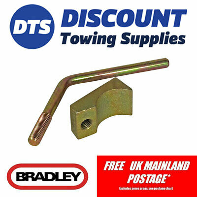 Bradley Pad and Handle for B43 43mm Cast Trailer Jockey Wheel Clamp - KIT1610