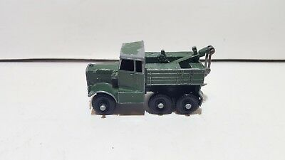 Matchbox Lesney Regular Wheels 64 Scamell Breakdow Truck used condition