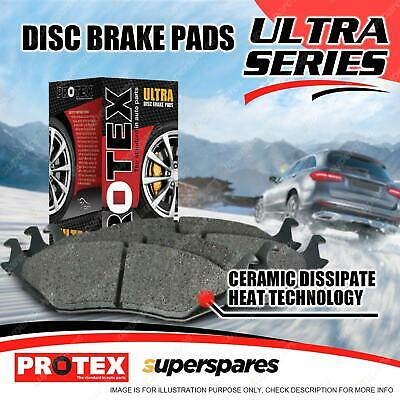 4 Front Protex Ultra Brake Pads For BMW 323 325 328 Ci i 330i 325ti E46