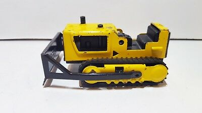 RICO Spain Bulldozer tin plate used condition 1970's 10,8 x 6,5 x  5,5 cm