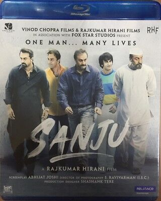 Sanju Blu-Ray 2018 Bollywood Movie Special Edition Bluray Ranbir Kapoor