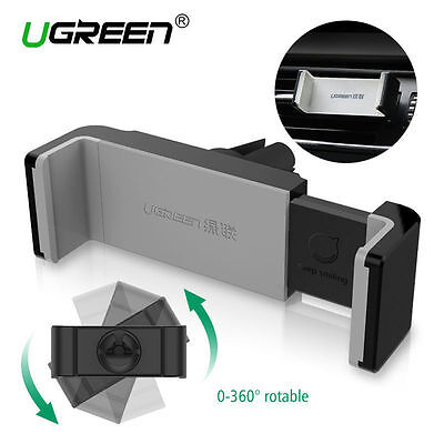 Ugreen Universal Air Vent Phone Holder in Car Mount Cradle Stand for iPhone GPS