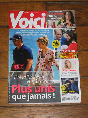 Voici 1590, David & Laura Smet, Charlize Theron, Marc Lavoine, Kate & William