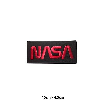 NASA USA Embroidered Patch Iron on Sew On Badge For Clothes Bags etc