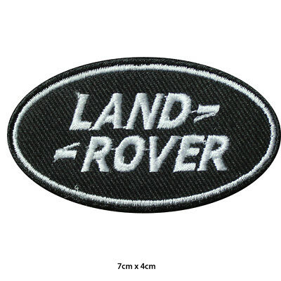 Land Rover Car Brand Logo Racing Sponsor Embroidered Patch Iron on Sew On Badge