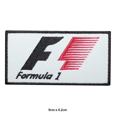 Formula 1 F1 Motor Sport Racing Sponsor Embroidered Patch Iron on Sew On Badge