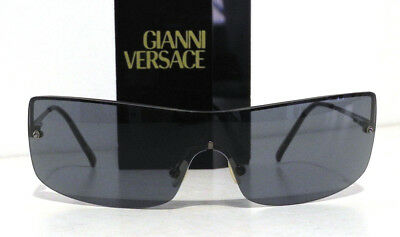 22850b654565 Versus Versace Real Vintage Occhiali Maschera Sunglasses Mask 5022 Made in  Italy