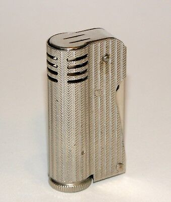 1936 streamline art deco fire-chief side press automatic windproof pipe lighter