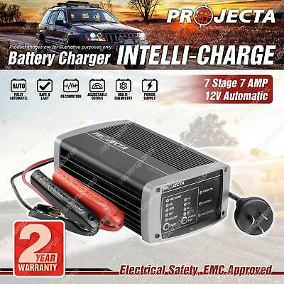 Projecta Intelli-Charge 12 Volt 7 Stage Battery Charger Suit AGM Calcium