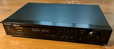 Sony ST-S261 Stereo AM FM Radio Tuner HiFi Separate RDS EON