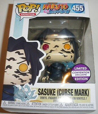 Funko POP ! Naruto Sasuke Curse Mark  Limited Convention Exclusive ( IN HAND )