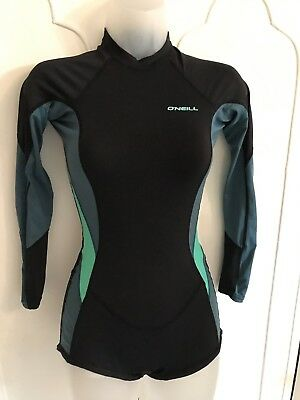 womens O Neill  WETSUIT SPRING SUIT SHORTY SIZE 6 X1