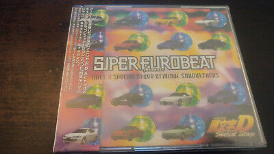 Super Eurobeat Presents Initial D Special Stage soundtracks  Alion Records CD