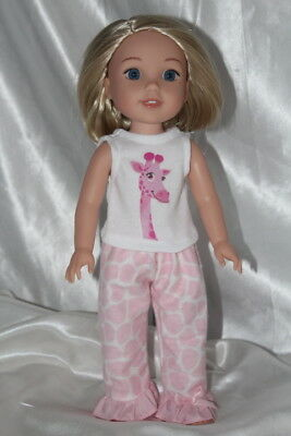 Doll Clothes fits 14inch American Girl Wellie Wishers Dress Outfit