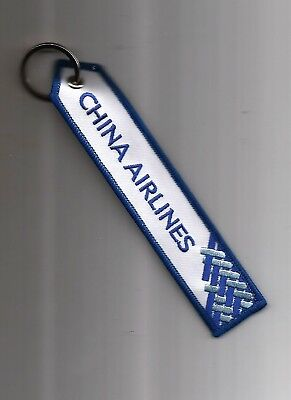 Porte Cle Flamme Airbus A350-900 China Airlines Nouveau Modele - Neuf