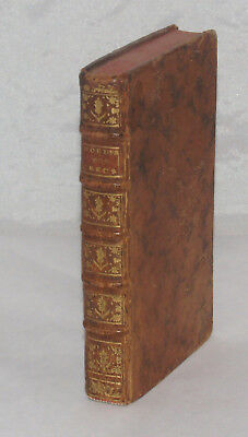 Antique Leather Bound Book M. Menard Les Mouers Et Les Usages Des Grecs 1743