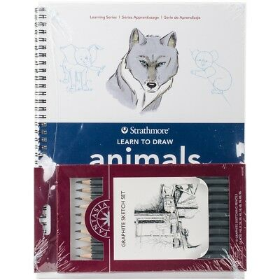 Learn To Draw Animals Set-