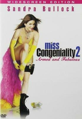 Miss Congeniality 2: Armed and Fabulous (DVD, 2005, Widescreen) NEW
