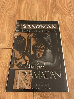 Sandman #50 (2nd series), Signed by P. Craig Russell, NM