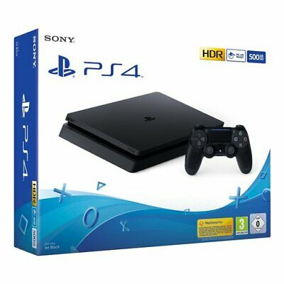 Konsole Videogames Sony Entertainment PS4 500GB f-Fahrgestell Black