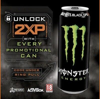 Code, 15 Minuten Call of Duty Black Ops 4 Monster Energy double 2 XP CoD DLC