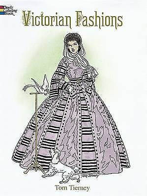 Victorian Fashions Coloring Book, Tierney, Tom