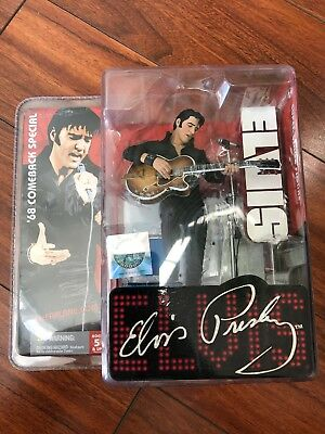 2007 McFarlane ELVIS Presley '68 Comeback Special Commemorative Action Figure