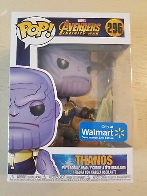 Funko Pop! Marvel Avengers Infinity War Thanos Limited Edition Figurine #296
