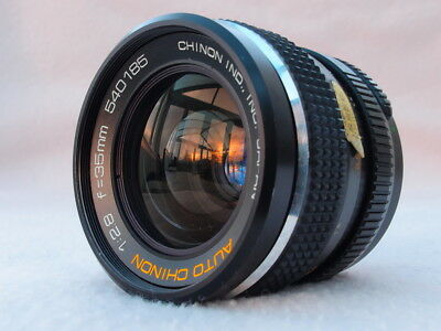 CHINON 35mm F2.8 M42 WIDE ANGLE LENS CAN FIT PENTAX K, CANON EOS, EF, DIGITAL