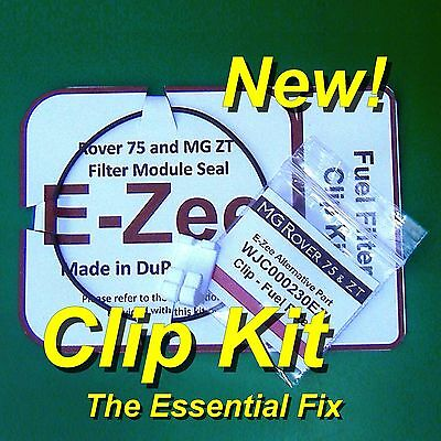 Rover 75 MG ZT Petrol Filter The White Clip Kit WJC000230EZ with VITON Seal