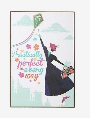 Disney Mary Poppins Returns Practically Perfect In Every Way Wood Wall Art Gift