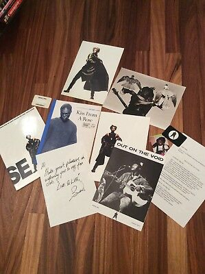 Rare Job Lot Seal Memorabillia - Fan Club Folder, Sheet Music, Badge, Posters