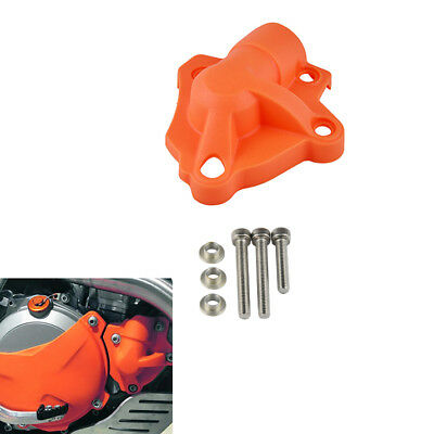 New Water Pump Protector Guard Cover Plastic For KTM 250 SXF XCF 2013 2014 2015