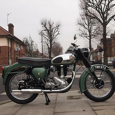 1958 BSA B31 350 Classic Vintage, W Wordsworth, In Concours d'Elegance Condition