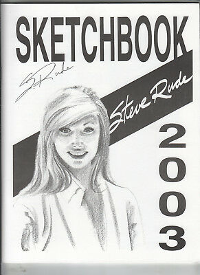 Steve Rude 2003 Sketchbook Signed NM / NM Minus