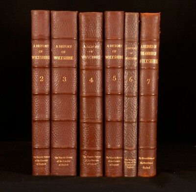 195 6vol A History of Wiltshire R B Pugh Illustrated Topographical History