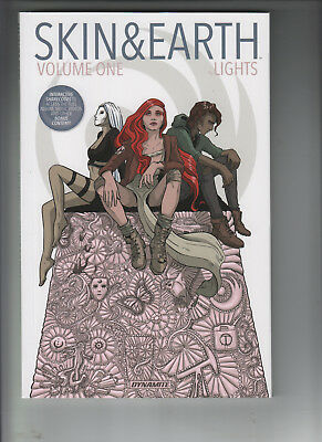 SKIN AND EARTH BY LIGHTS SIGNED TPB Collecting #1-6 Dynamite Comics NM