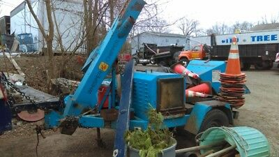 """1993 Altec Products DC12 Woodchipper 12"""" Drum Forestry Chipper NEEDS WORK"""