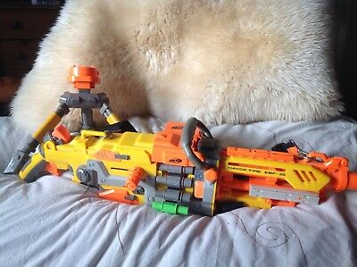Nerf Havoc Fire EBF -25, stand and bullets. Very good working condition.