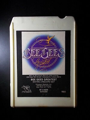 8-Track / 8-Spur Tonband /Cartridge :  BEE GEES - Greatest